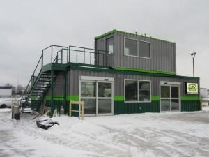 Modular Store Exterior As Built
