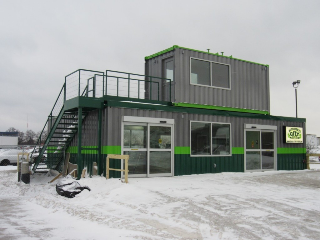 Retail And Office Space Using Shipping Containers Custom Shipping Container Buildings Mods
