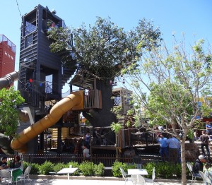 Downtown Container Park Playground