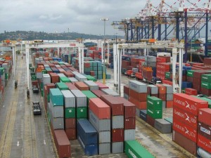 Surplus of Containers at Port