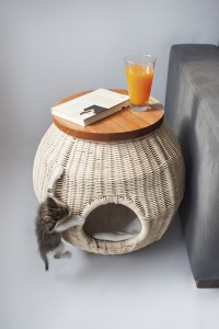 Cat House Side Table