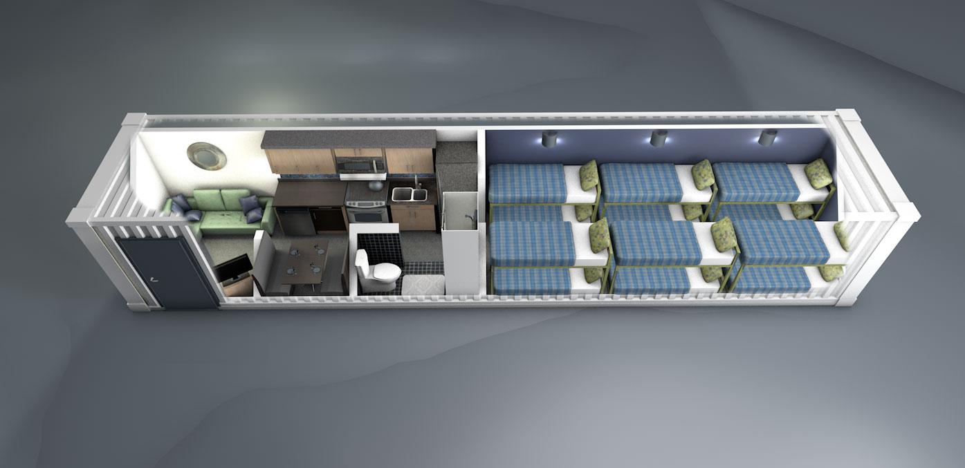 MODS Bunkhouse Design