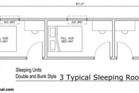 MODS Three-Bedroom Unit Floor Plan