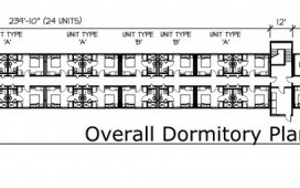 MODS Dormitory Housing Floor Plan