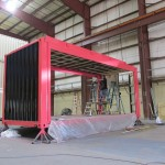 Shipping Container Trade Show Display Build