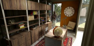 MODS Container Home Concept Interior