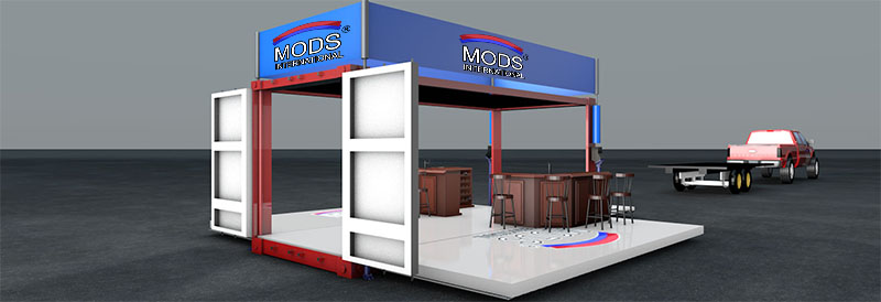 MODS Shipping Container Pop-Up Store Design