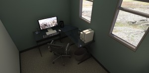 MODS Temporary Home/Office Interior