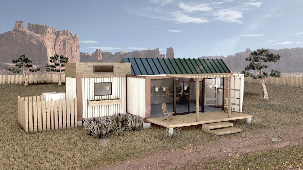 MODS Tiny Container House Design