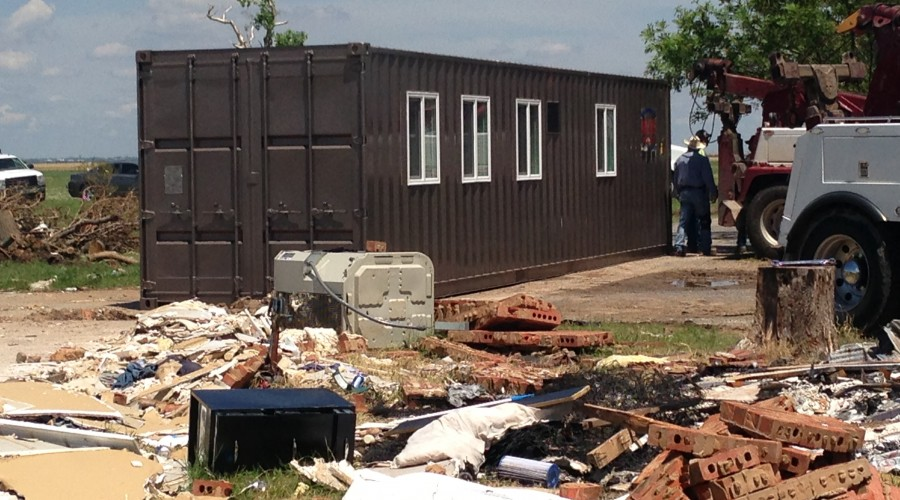 MODS Temporary Home - Donated to OK Tornado Victims