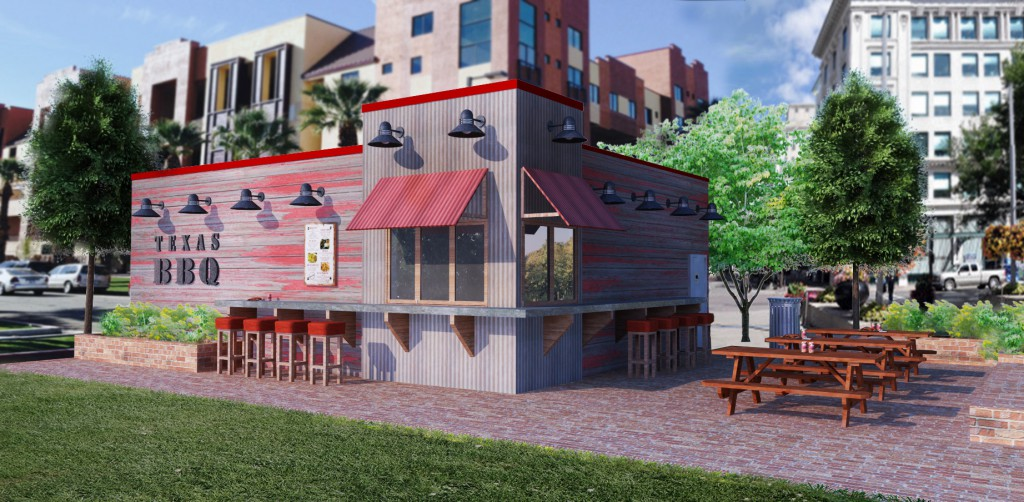 Shipping Container Restaurant Design