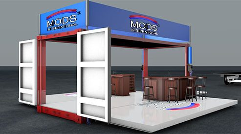 MODS Pop-up Shipping Container