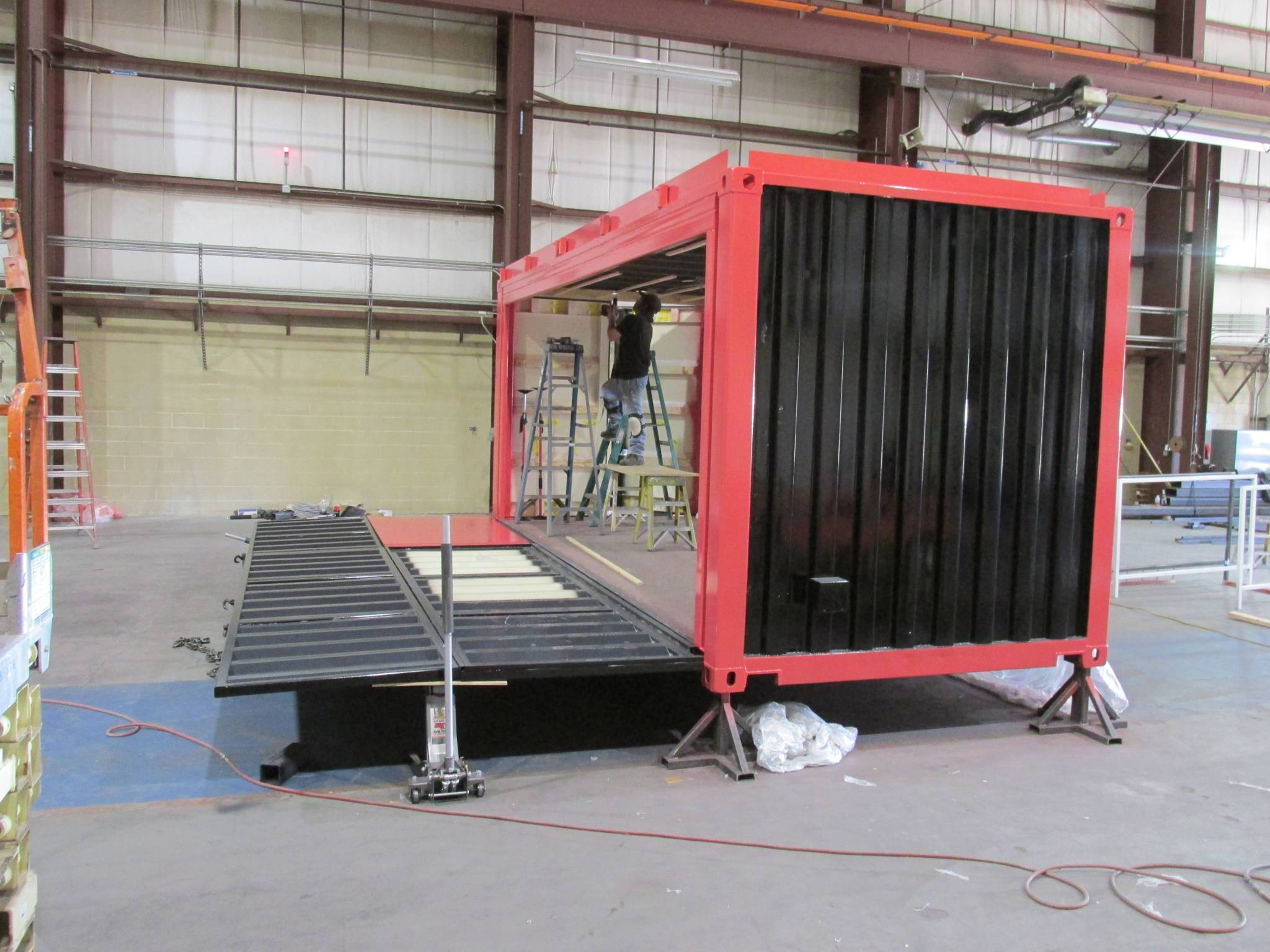 Pop-up Shipping Container