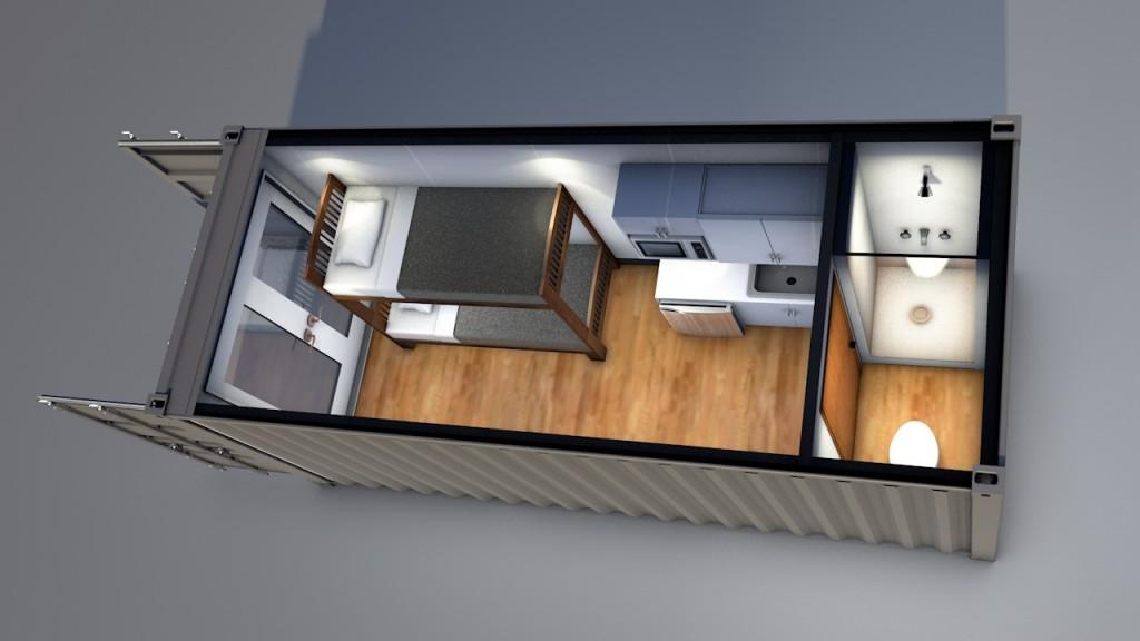 20' Efficiency Home