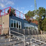 steel press box