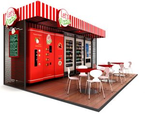 container based trade show displays