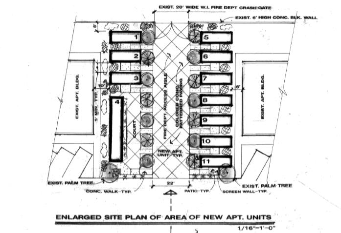 veterans village housing site layout